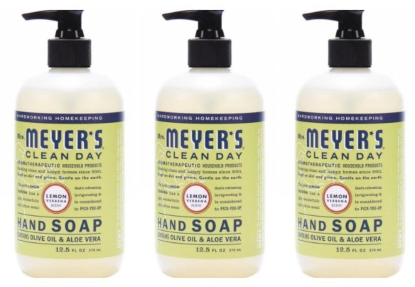 Amazon – Mrs. Meyer's Clean Day Hand Soap ONLY $2.47 Per Bottle Shipped!