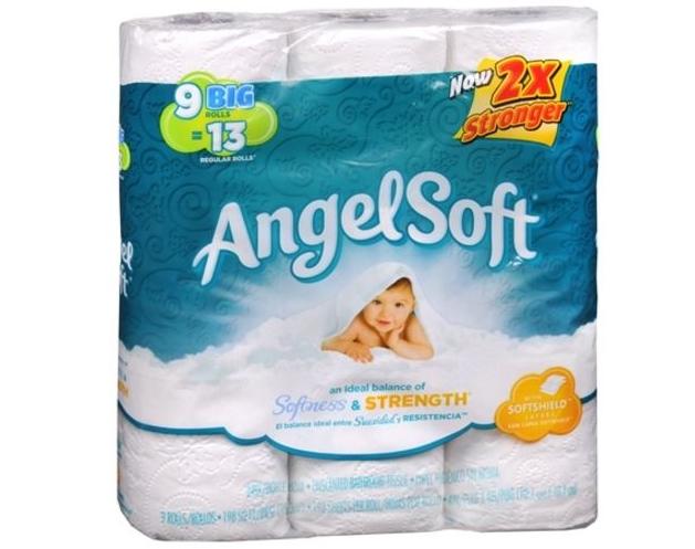 Walgreen's – Angel Soft Bath Tissue 9 Big Rolls Only $2.54
