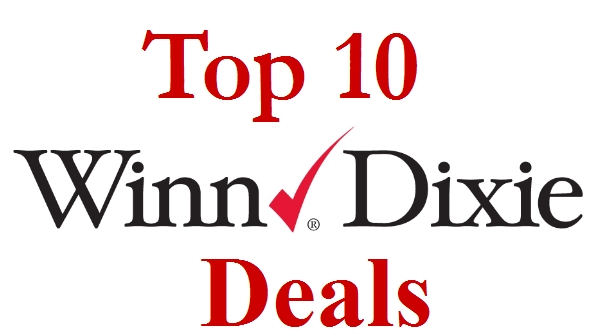 Top 10 Winn Dixie Sales with Coupon Matchups For 7/17-7/23