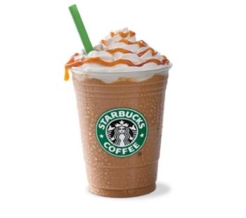 25% off Starbucks Frappuccinos Target Cartwheel Offer