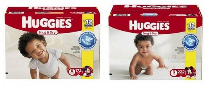Amazon – Huggies Diapers As Low As 10¢ Each