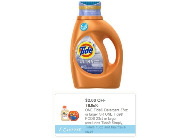 Kmart – Tide 37 OZ Only $1.39 – PRINT YOUR COUPON NOW!