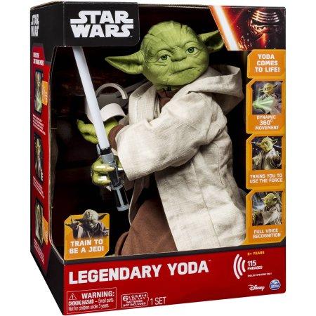Walmart – Star Wars Legendary Jedi Master Yoda Only $49.00 (Reg $179.97) + Free Shipping!