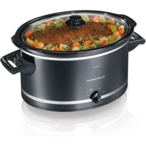 Walmart – Hamilton Beach 8-Quart Extra-Large Capacity Slow Cooker, Black Only $29.92 (Reg $39.99) + Free Store Pickup Today