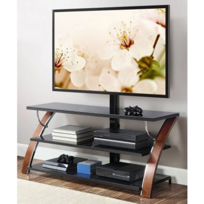 Walmart – Whalen Brown Cherry 3-in-1 Flat Panel TV Stand for TVs up to 65″ Only $134.00 (Reg $179.00) + Free Shipping!