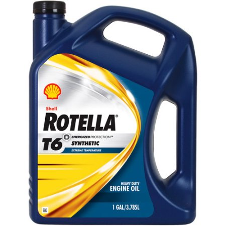 Walmart – Shell Rotella Full Synthetic 5W-40 Motor Oil, 1 gal. Only $19.16  (Reg $21.74) + Free Store Pickup