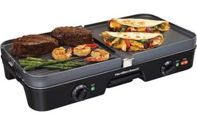 Walmart – Hamilton Beach 3-in-1 Grill/Griddle Only $41.41 (Reg $59.99) + Free Store Pickup