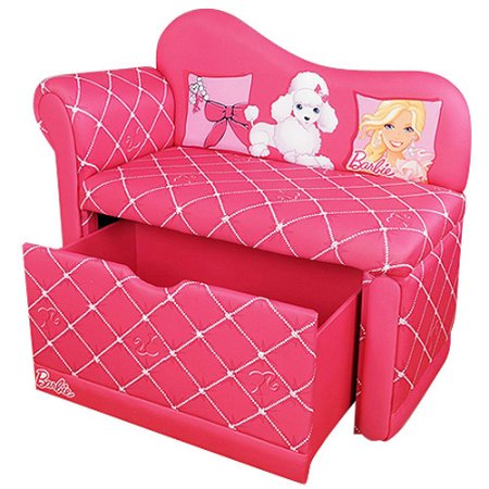 Walmart – Barbie Glam Storage Chaise Lounge, Pink Only $116.47 (Reg $129.98) + Free Shipping