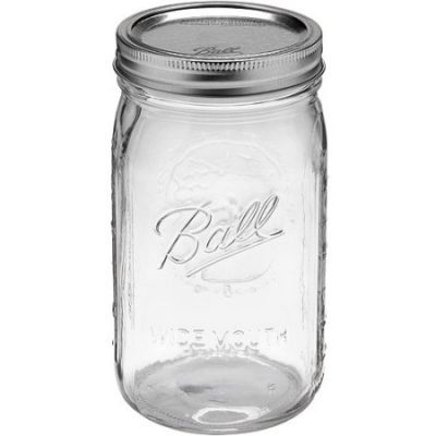 Walmart – Ball 12-Count Wide Mouth Quart Jars with Lids and Bands Only $14.97 (Reg $17.97) + Free Store Pickup!