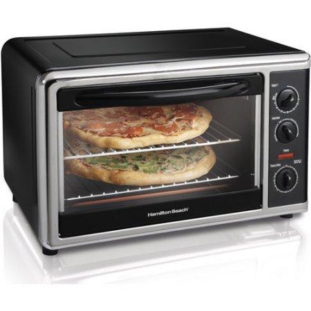 Walmart – Hamilton Beach Large Capacity Counter Top Oven, Chrome Only $69.00 (Reg $99.99) + Free Shipping