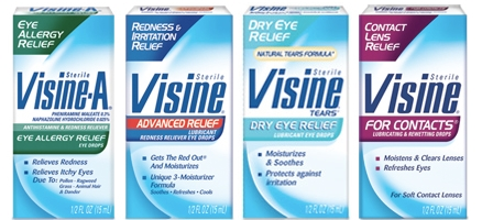 Visine – Only $1.85 at Walgreen's Starting June 5th w/New Printable $1.50/1 Coupon (Print It Now)