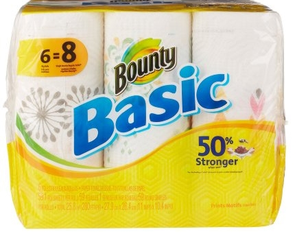Upcoming Publix Deal Starting 6/16 Bounty Basic, 8 lg Rolls Only $2.99 + Print Your Coupons NOW!