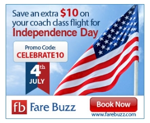 Buzz Fare – Save An Additional $10 On Every Flight Ticket Purchased