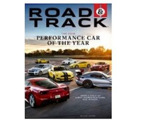 Free 2-Year Subscription to Road & Track Magazine