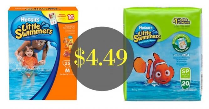 Target – Huggies Little Swimmers Only $4.49, Reg $10