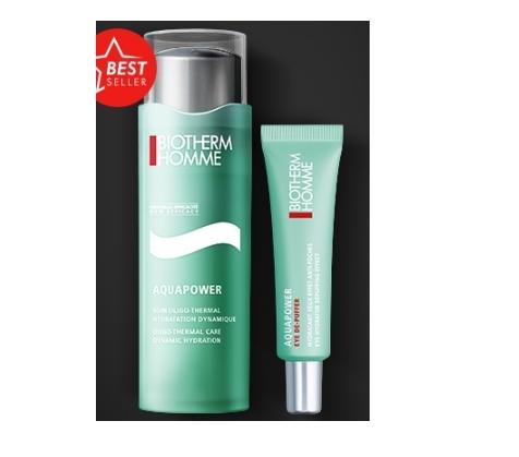 Free Sample of Biotherm Homme Aquapower Gel & Eye Hydrator