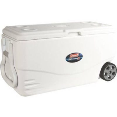 Walmart – Coleman 100 qt Xtreme 5-Wheeled Cooler Only $49.99 (Reg $62.86) + Free Shipping