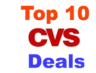 Top 10 CVS Deals For 11/26-12/02