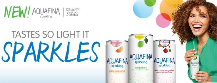 Free Aquafina Sparkling Water!