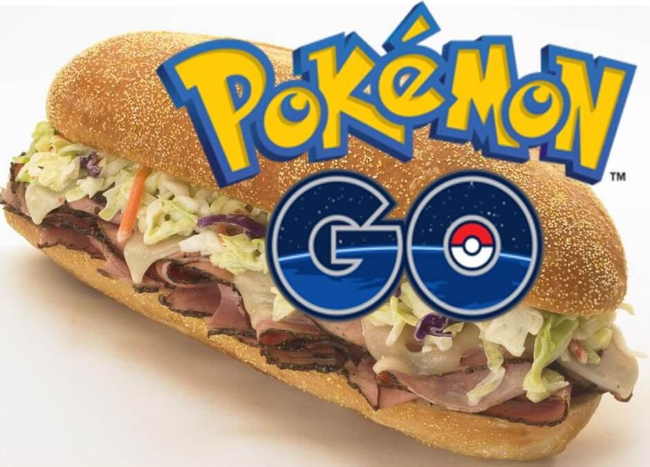 Free Capriottis Sandwich for Catching Pokemon Go (Today Only)
