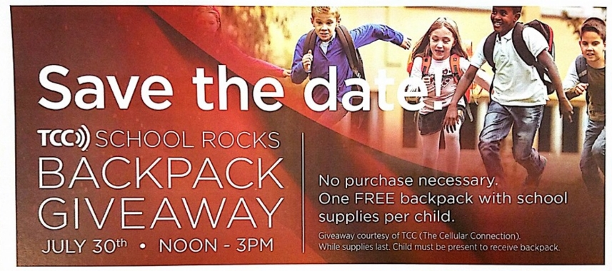 Verizon Stores – (July 30th) Free Backpack & School Supplies