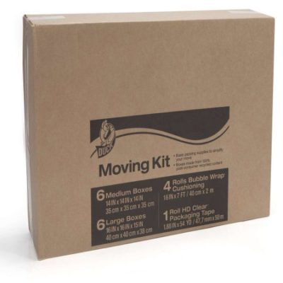 Walmart – Duck Brand Moving Kit Bubble Wrap Cushioning Kit, 17 pk Only $39.23 (Reg $48.98) + Free Shipping