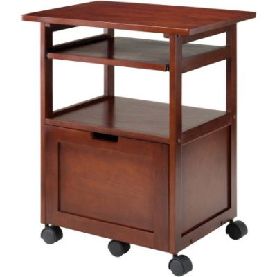 Walmart – Winsome Piper Work Station, Walnut Only $73.00 (Reg $108.00) + Free Shipping
