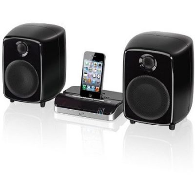 Walmart – iLive ISDB752B Bluetooth Dock and Speakers For iPod/iPhone/iPad, Black Only $40.30 (Reg $64.55) + Free Store Pickup