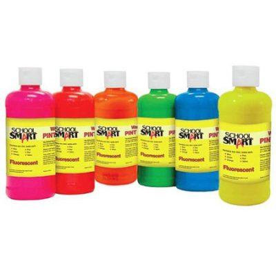 Walmart – School Smart Tempera Paint, 1-Pint, Fluorescent Colors, Set of 6 Only $9.47 (Reg $14.97) + Free Store Pickup