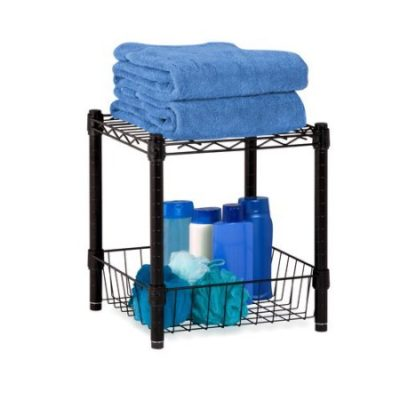 Walmart – Honey Can Do Urban Table With Storage Basket, Black Only $19.20 (Reg $26.45) + Free Store Pickup