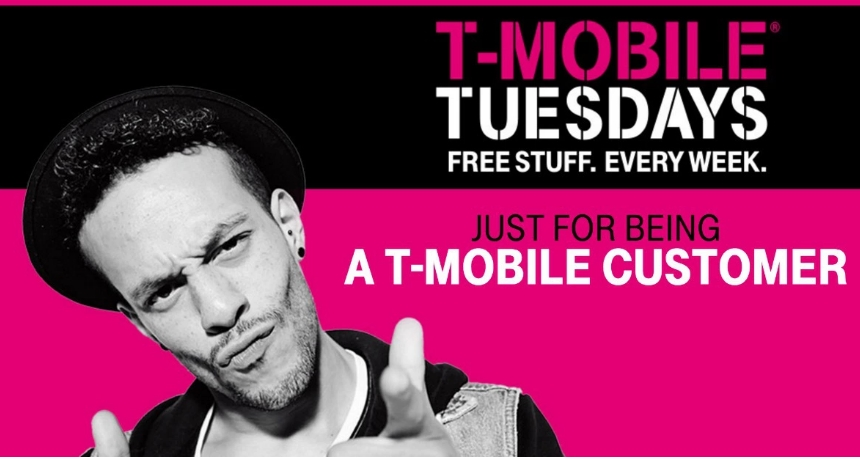 T-Mobile Tuesday – Win FREE T-Shirts, Wendy's Frostys, Gilt Credits & Lots More!