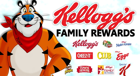 Kellogg's Family Rewards – Add 100 Points To Your Account OR Sign Up For FREE!