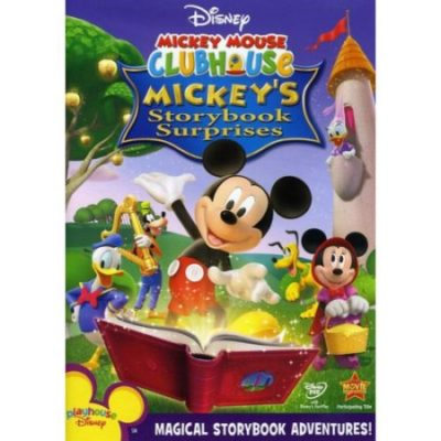 Walmart – Disney Mickey Mouse Clubhouse: Mickey's Storybook Surprises (Full Frame) Only $7.99 (Reg $14.99) + Free Store Pickup