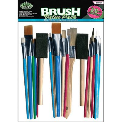 Walmart – Royal Brush Value Pack, 25-Pack, Assorted Only $6.98 (Reg $8.99) + Free Store Pickup