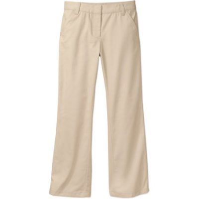 Walmart – George Girls School Uniforms Flat Front Pants with Stain Resistant Scotchguard Treatment Only $6.50 (Reg $12.97)+Free Store Pickup