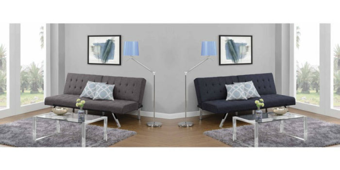 Walmart – Emily Convertible Futon, Multiple Colors Only $159.00 (Reg $189.00) + Free Shipping