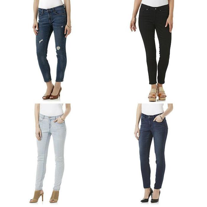 Sears – R1893 Women's Short Inseam Skinny Jeans Only $21.99 (Reg $39.00) + Free Store Pickup