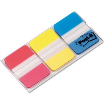 Walmart – Post-it File Tabs, 1 x 1 1/2, Assorted Primary Colors, 66/Pack Only $4.61(Reg $6.98) + Free Store Pickup