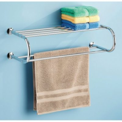 Walmart – Whitmor Chrome Towel Rack with Shelf Only $13.87 (Reg $15.54) + Free Store Pickup