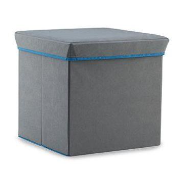 Kmart – Bintopia Gray Folding Storage Ottoman Only $7.99 (Reg $15.99) + Free Store Pickup