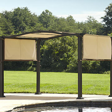 Kmart – Essential Garden Curved Pergola With Canopy – Limited Availability Only $180.00 (Reg $599.99) + Free Store Pickup
