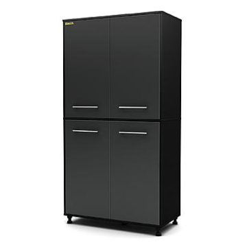 Kmart – South Shore Karbon Storage 6-shelf Cabinet In Pure Black and Charcoal Finish Only $288.86 (Reg $324.99) + Free Shipping