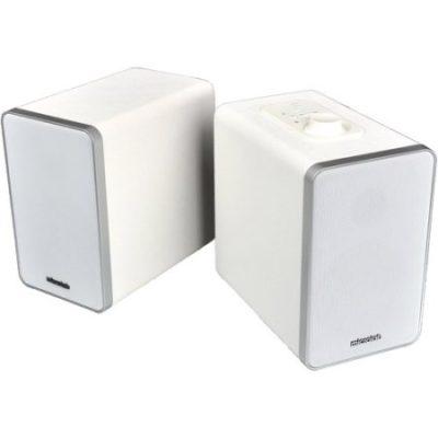 Walmart – Microlab H21 Bluetooth 2-Way Bookshelf Speaker System, White Only $128.80 (Reg $140.45) + Free Shipping