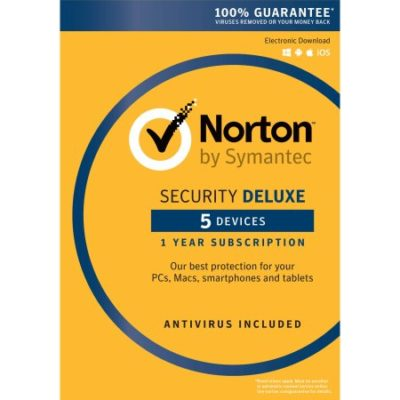 Walmart – Norton Security Deluxe, 1 User, 5 Devices, 1 Year Only $46.72 (Reg $52.50) + Free Store Pickup