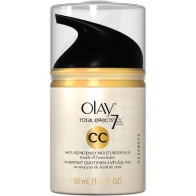 Walmart – Olay Total Effects 7 In One Anti-Aging Daily Facial Moisturizer Plus Foundation Cream Color, 1.7 oz Only $17.59 (Reg $18.97) + Free Store Pickup