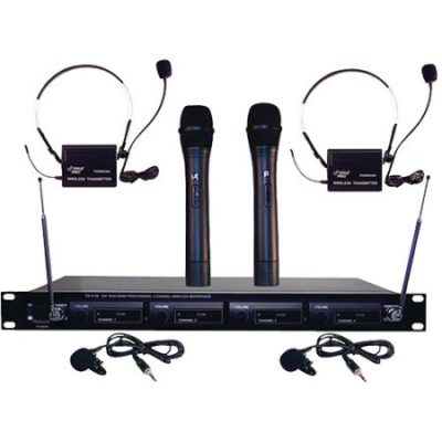 Walmart – Pyle Pro PDWM4300 4-Microphone VHF Wireless Microphone System Only $134.50 (Reg $172.13) + Free Shipping