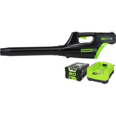 Walmart – GreenWorks GBL80300 80-Volt 500CFM Cordless Jet Blower Includes 2.0AH Battery and Charger Only $239.61 (Reg $279.99) + Free Shipping