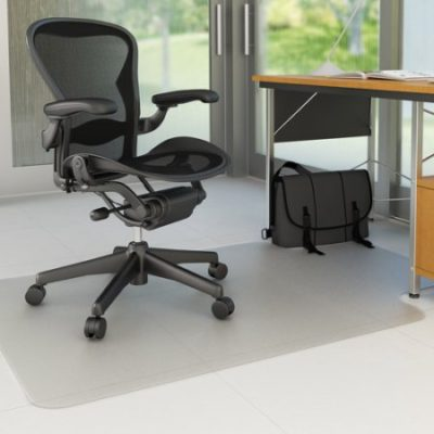 Walmart – Deflecto 45″ x 53″ EconoMat Anytime-Use Chair Mat for Hard Floor, with Lip, Clear Only $35.00 (Reg $89.81) + Free Store Pickup