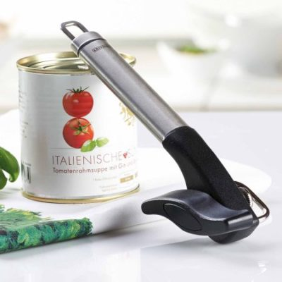 Walmart – Leifheit Stainless Steel Safety Pro Single-Handle Can Opener, Black and Silver Only $17.86 (Reg $22.99) + Free Store Pickup
