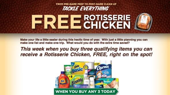 FREE Rotisserie Chicken This Week at Publix